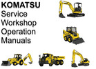 Thumbnail Komatsu Skid Steer Loader SK714-5 Operation Maintenance Manual  SN SK714-5 37AF00004 and up