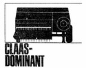 Thumbnail Claas Dominant Parts Catalog