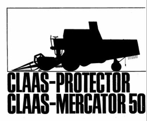 Product picture Claas Protector Mercator 50 Parts Catalog